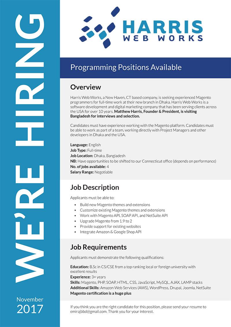 Harris Web Works (A US Based Company)